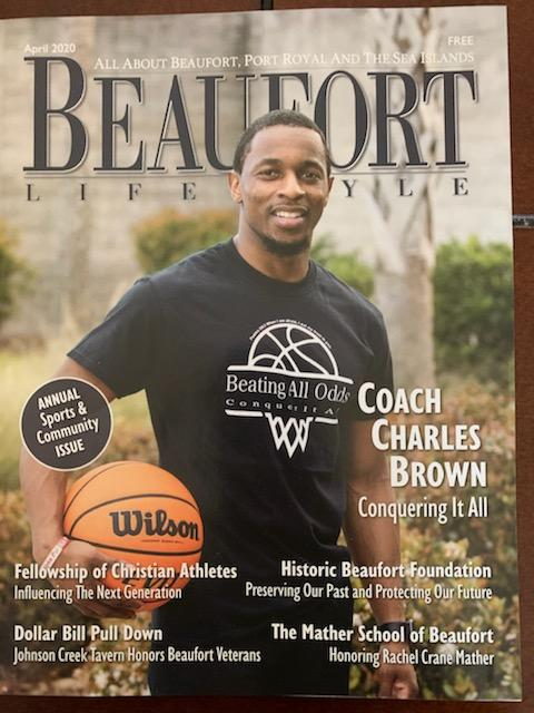Coach Brown featured in Beaufort Lifestyle Magazine