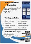 Download the BCHS Athletics App Today!