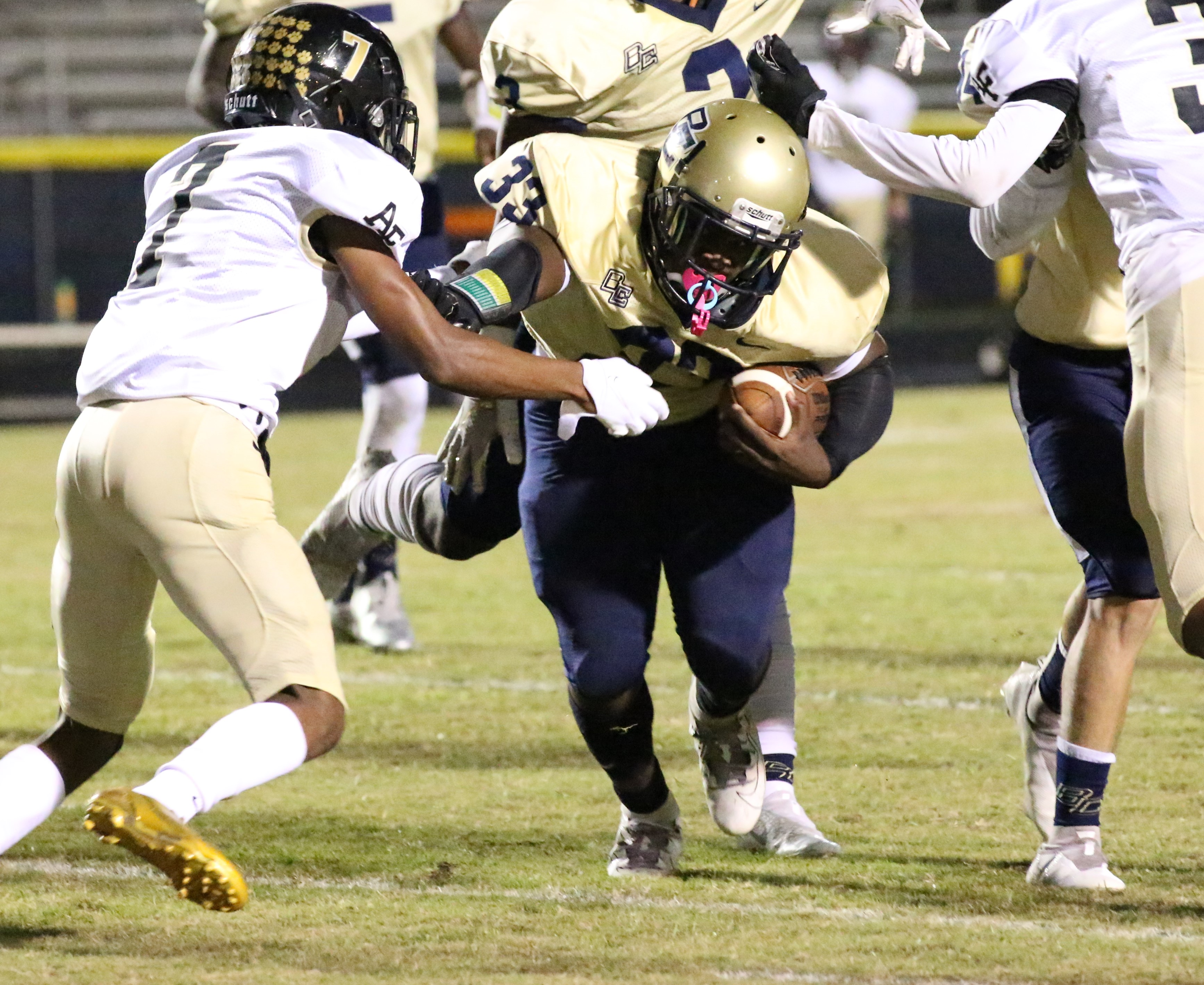 Dolphins come up short against Allendale-Fairfax, 26-14