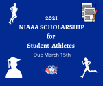 2021 NIAAA Scholarship for the Class of 21 Student-Athletes