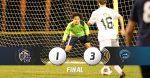 Boys soccer drops close game to Landsharks