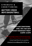 Boys Basketball Conditioning Begins April 19th