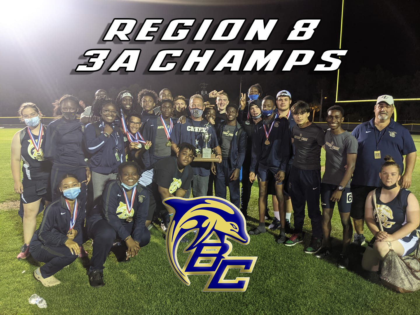 Dolphins claim Track and Field Region Title