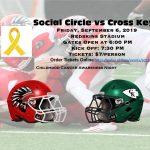 Social Circle vs Cross Keys