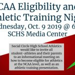 NCAA Eligibility / Athletic Training Night