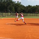Girls Middle School Softball beats Jasper County Middle School 16 – 1