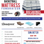 SCHS BASKETBALL Mattress Fundraiser