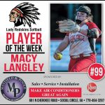 Softball Player of the Week