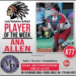 Softball Player of The Week – Ana Allen