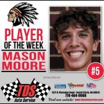 SCHS Football Player of the Week – Mason Moore