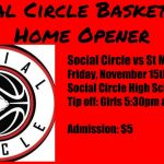 SCHS Basketball Season Home Opener