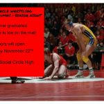 SCHS Wrestling Alumni & Senior Night 11/22