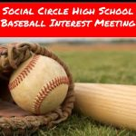 SCHS Baseball Interest Meeting: 12/5