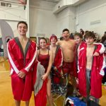 Social Circle High School Swim Team competed at the Jingle Jam
