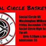 Basketball host Washington Wilkes this Friday