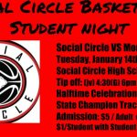 Basketball to host $1 Student Night with Special Halftime Celebration