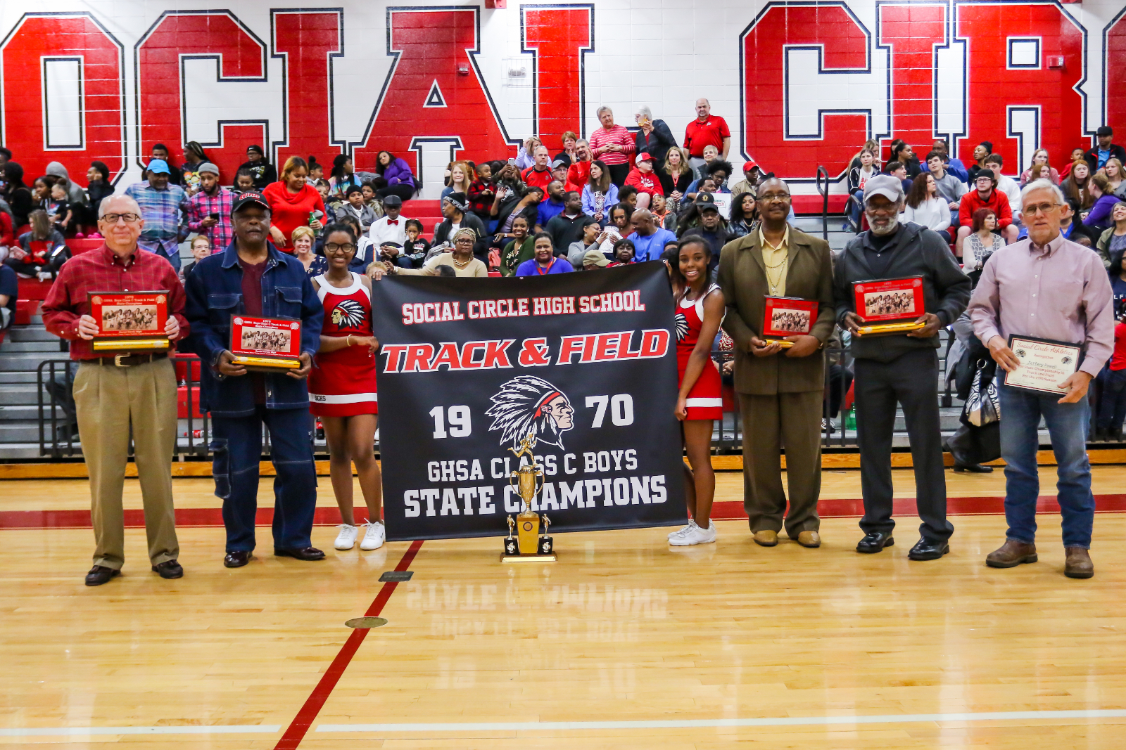 1970 State Champion Track Team Honored