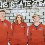 SCHS Swim Team at State Meet