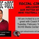 Social Circle Hires Rob Patton as Head Football Coach