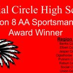 Social Circle Earns Region 8AA Sportsmanship Award