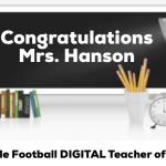 SCFB Digital Teacher of the Week- Mrs. Hanson