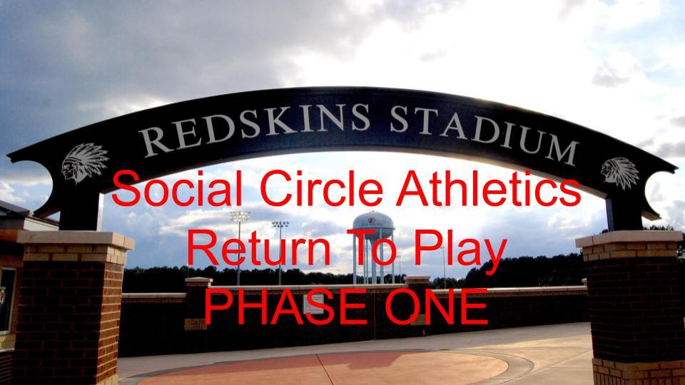 SCHS – Return to Summer Workouts Plan