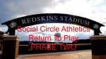 Social Circle Athletics enters Phase 2