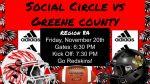 Social Circle Football vs Greene County – Tickets Available
