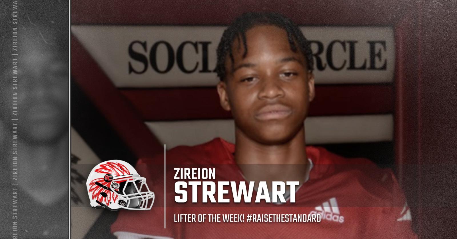 SC Football Lifter of the Week: Zireion Stewart