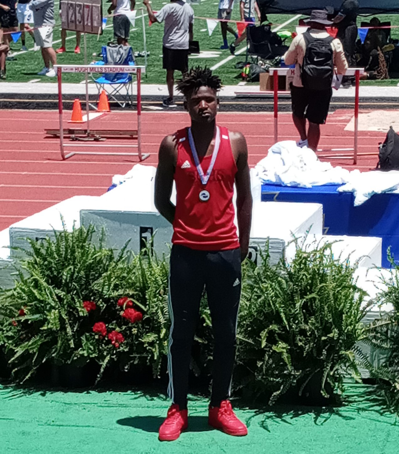 Phillip Baynes places 7th at GHSA State Track Meet