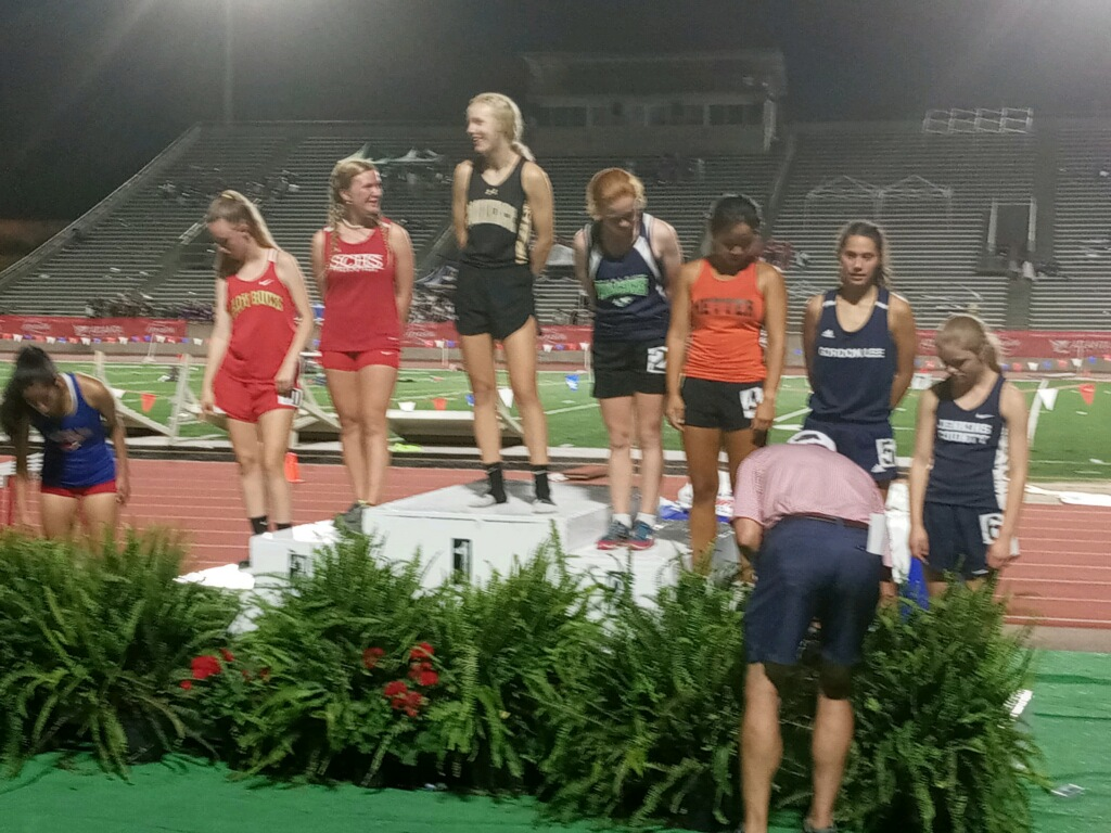 Julia Russell places 3rd at GHSA State Track Meet
