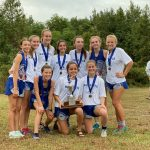 Girls Varsity Cross Country finishes 1st place at Region 8 AAA Championship
