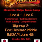 GIRLS BASKETBALL TEAM CAMP – GRADES 8-12