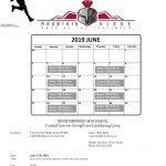 Sentinels Football Summer Strength and Conditioning Camp