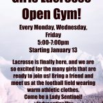 Girls Lacrosse Open Gym