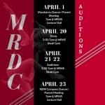 MRHS Dance Company Auditions 2020-21′
