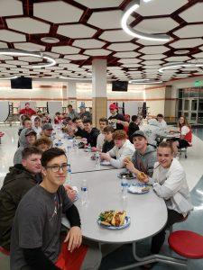 First 2020 Team Dinner