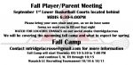 Fall Boys Lacrosse Meeting 09/01
