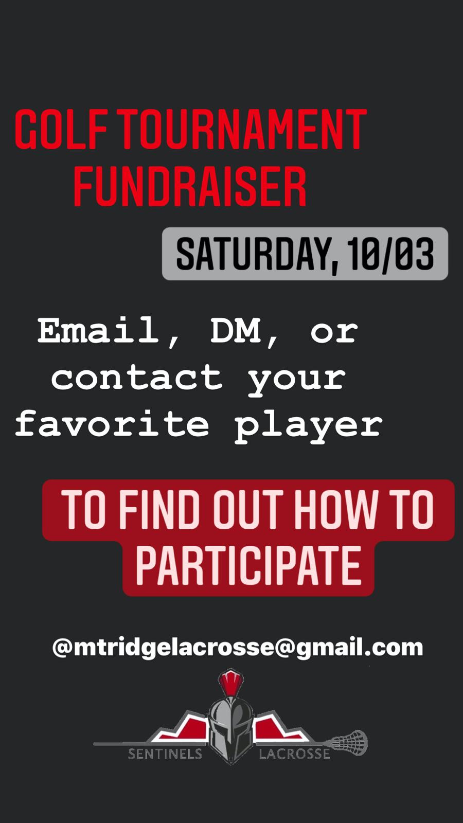 Boys Lacrosse Golf Tournament Fundraiser