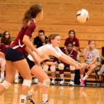 Varsity Volleyball Splits Games at Tri-Match