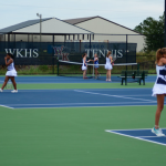River Bluff Tops Girls Tennis