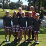 Girls Golf Defeat Airport in Scrimmage