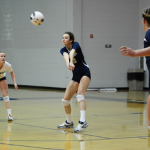 Volleyball Splits with South Aiken