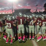 Football Players Honored
