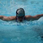 Lara Federspiel Competes at State Swim Meet