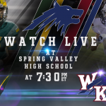 Varsity Football Game is Tonight at Spring Valley