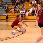 Varsity Volleyball beat Lexington 3-2