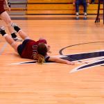 White Knoll High School Girls Varsity Volleyball beat Bluffton – Playoffs 3-0