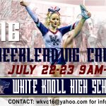 Updated Cheer Camp Information – July 22-23