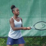 Girls Varsity Tennis falls to Gilbert